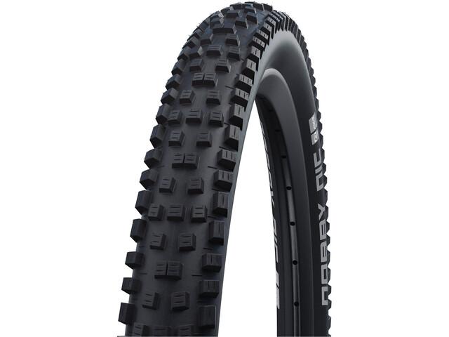 "SCHWALBE Nobby Nic Super Trail Evo Folding Tyre 27.5x2.35"" TLE E-50 Addix Soft SnakeSkin, black"